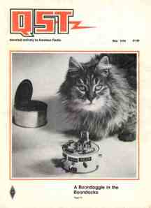 The Original May 1976 QST Cover