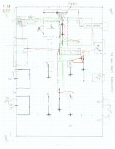 Parts layout sketch