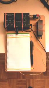 Home Brewed KX1 Operating Board