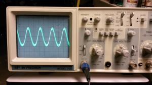 Input from signal generator at about 85kHz
