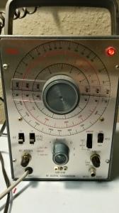 Vintage RCA signal generator.
