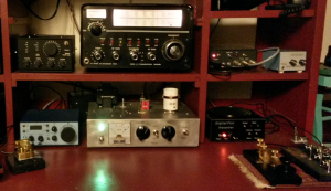 Drake 2B in the QRP stack