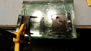 Preparing to clamp glue job