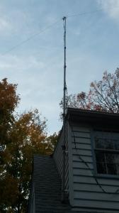 The new mast