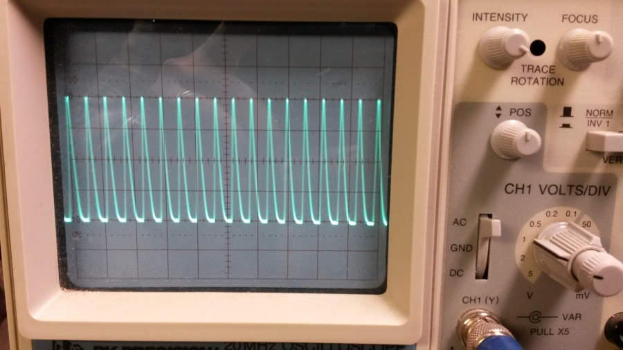Clipped waveform on 80M