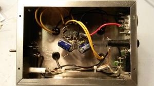 PSU under chassis wiring