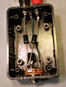 The old 2-diode trick for simultaneous keying of the VFO and transmitter