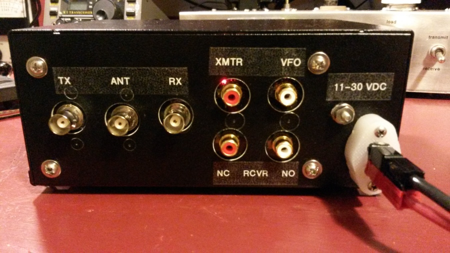 T-R Time Machine back panel
