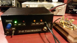 T-R Time Machine, front panel
