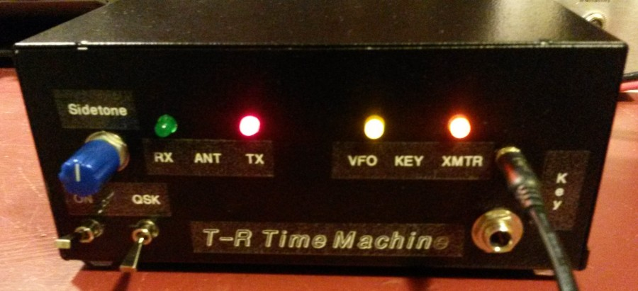 T-R Time Machine with working LED indicators