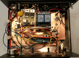 T-R Time Machine, interior view