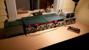 Complete Heathkit Novice Station