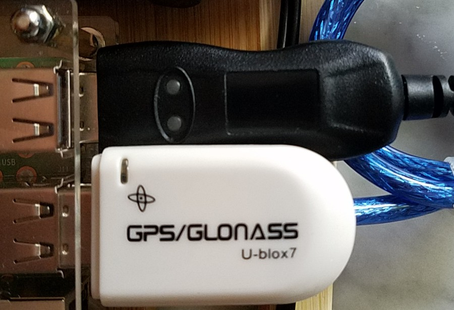 GPS and rig control dongles