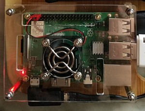 Raspberry Pi 3B+ in classy case